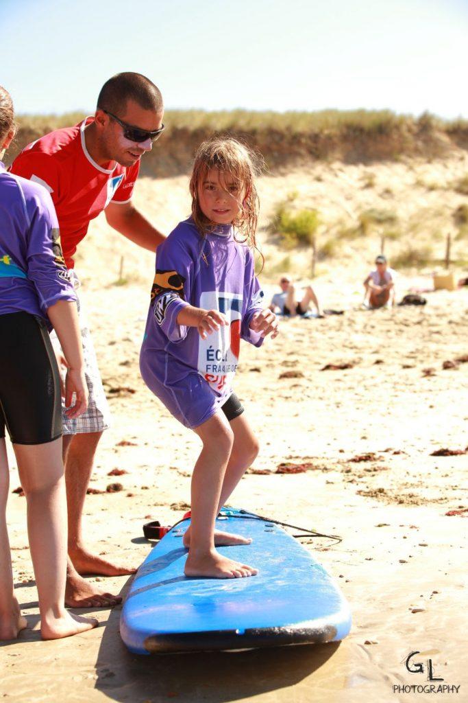cours de surf ile de re