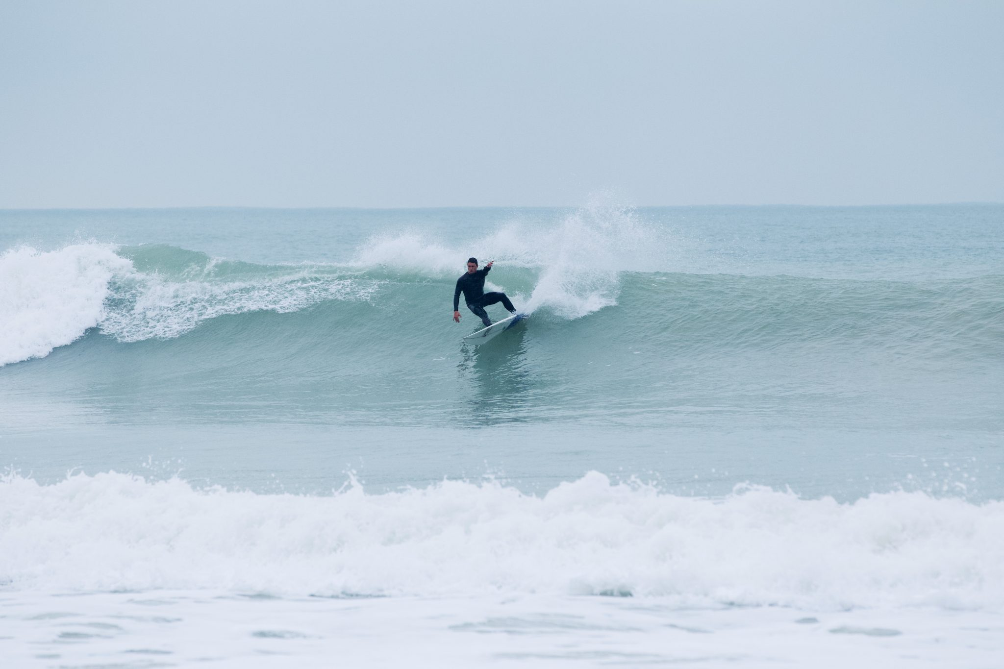 Pur surf à l'Île de Ré
