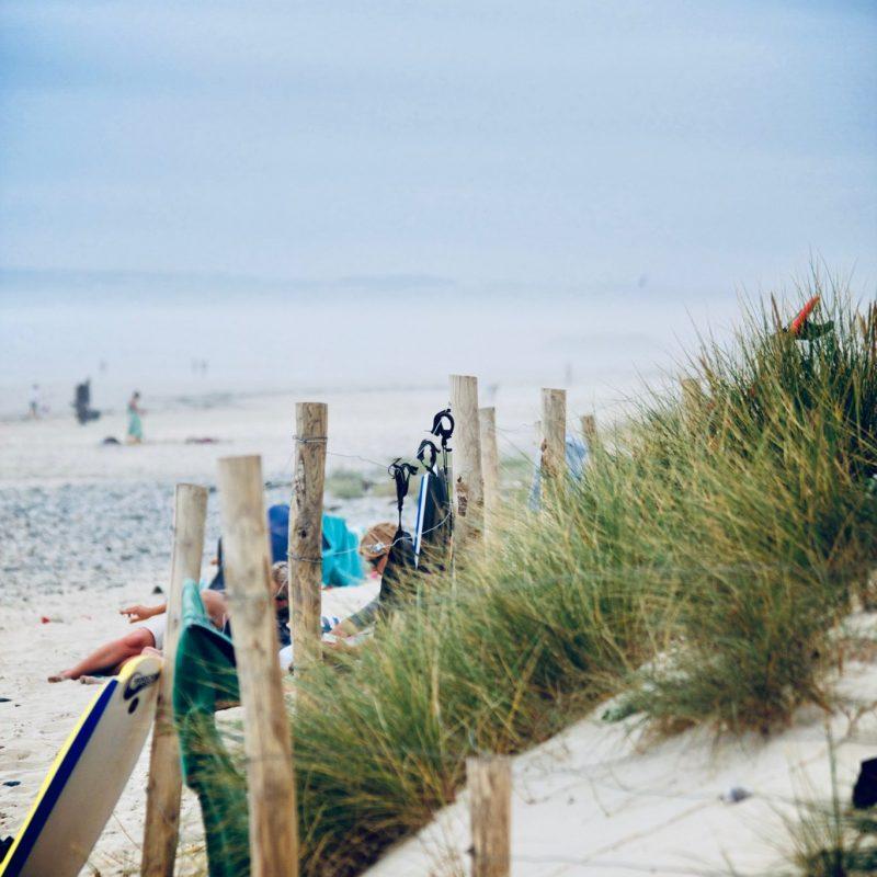 Dunes de sable de l'Île de Ré